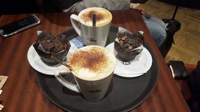 desayuno cafe nero gatwick
