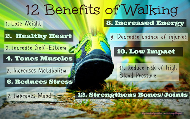 walking health benefits