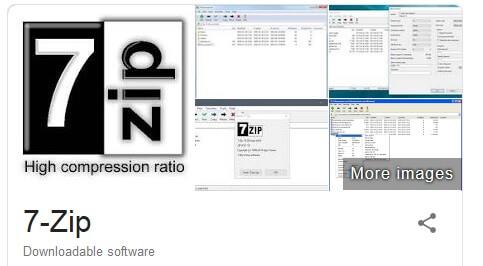 برنامج ضغط الملفات الى اصغر حجم 7zip