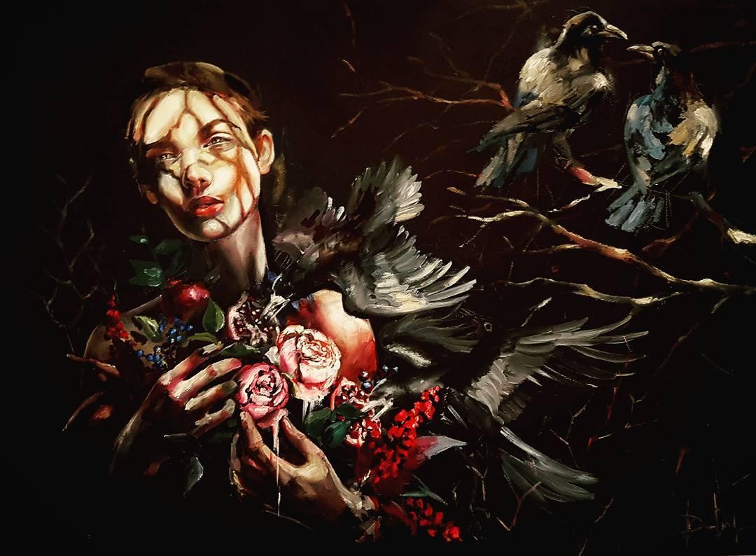 Paintings by Russian Artist Daria Pochinskaya