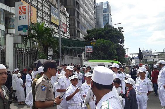 15000 Personel di Siagakan Untuk Mengawal Massa Demo 55 GNPF MUI
