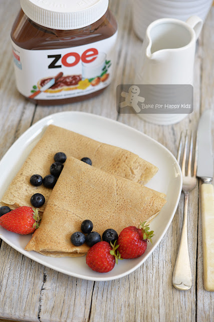 basic buckwheat crepes gluten free