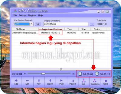 Cara mudah memotong file mp3