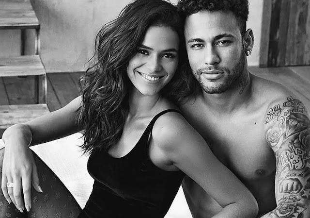 Resultado de imagem para neymar e bruna na c&a