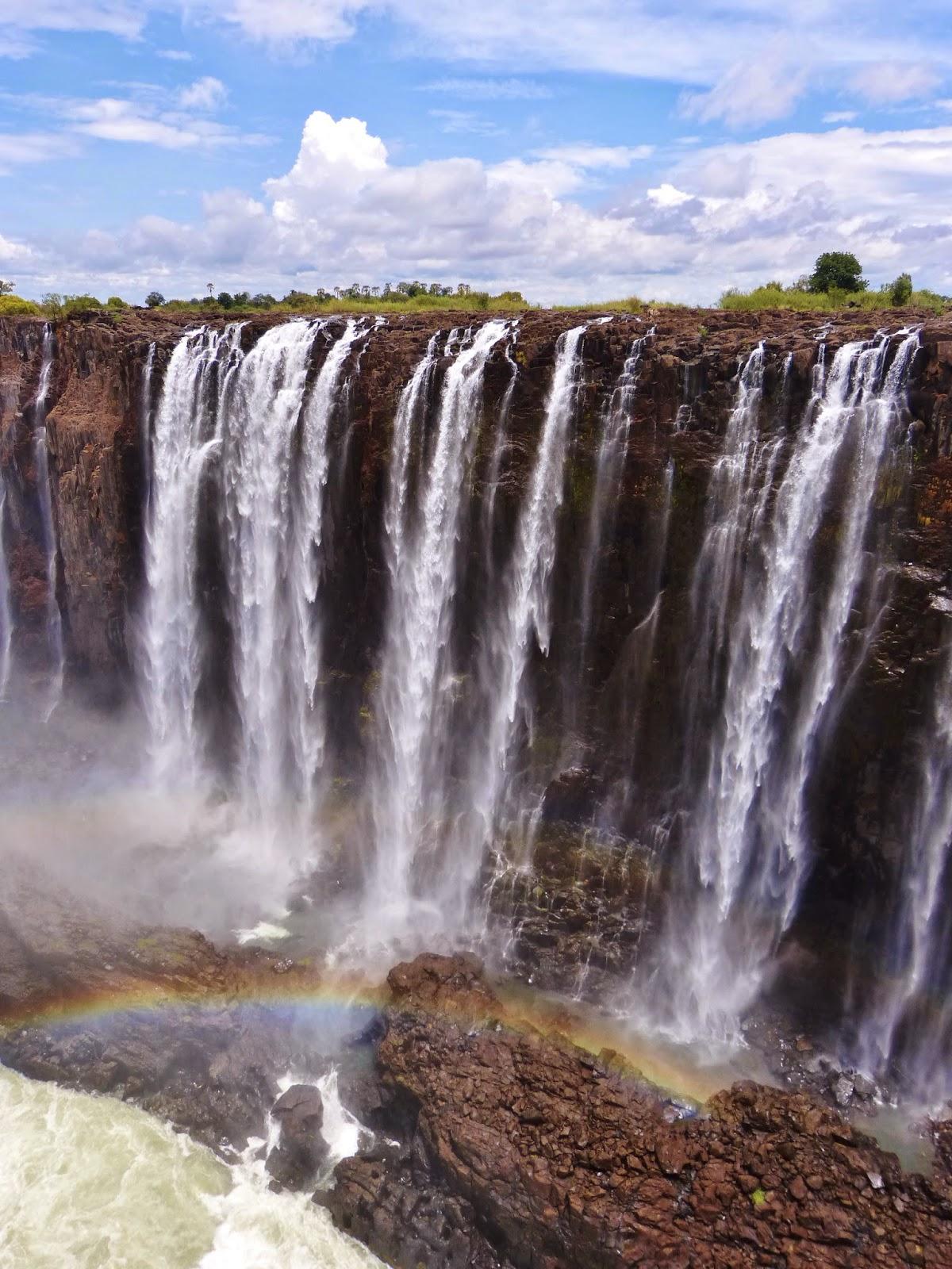 Chutes Victoria: Vol Libre Autour Du Monde: Zimbawbe Et Zambie; Les Chutes
