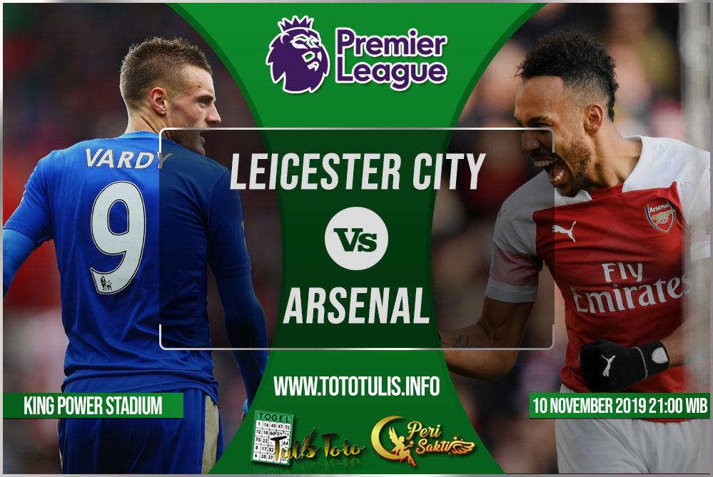 Prediksi Leicester City vs Arsenal 10 November 2019