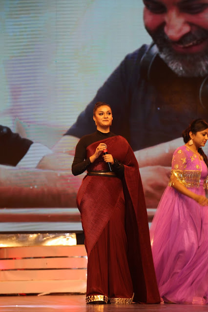 Actress Keerthy Suresh Stills at Agnyaathavaasi Audio Launch