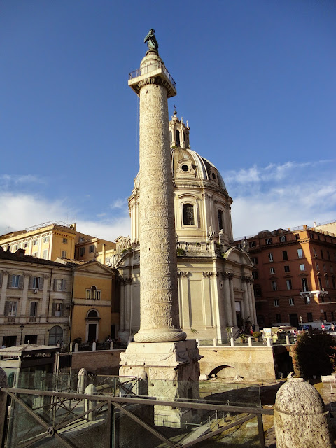 La Columna Trajana y el Foro de Trajano | AMOR ROMA
