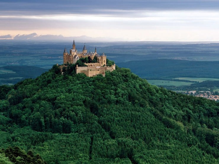 Top 10 Wonderful German Castles - Hohenzollern Castle