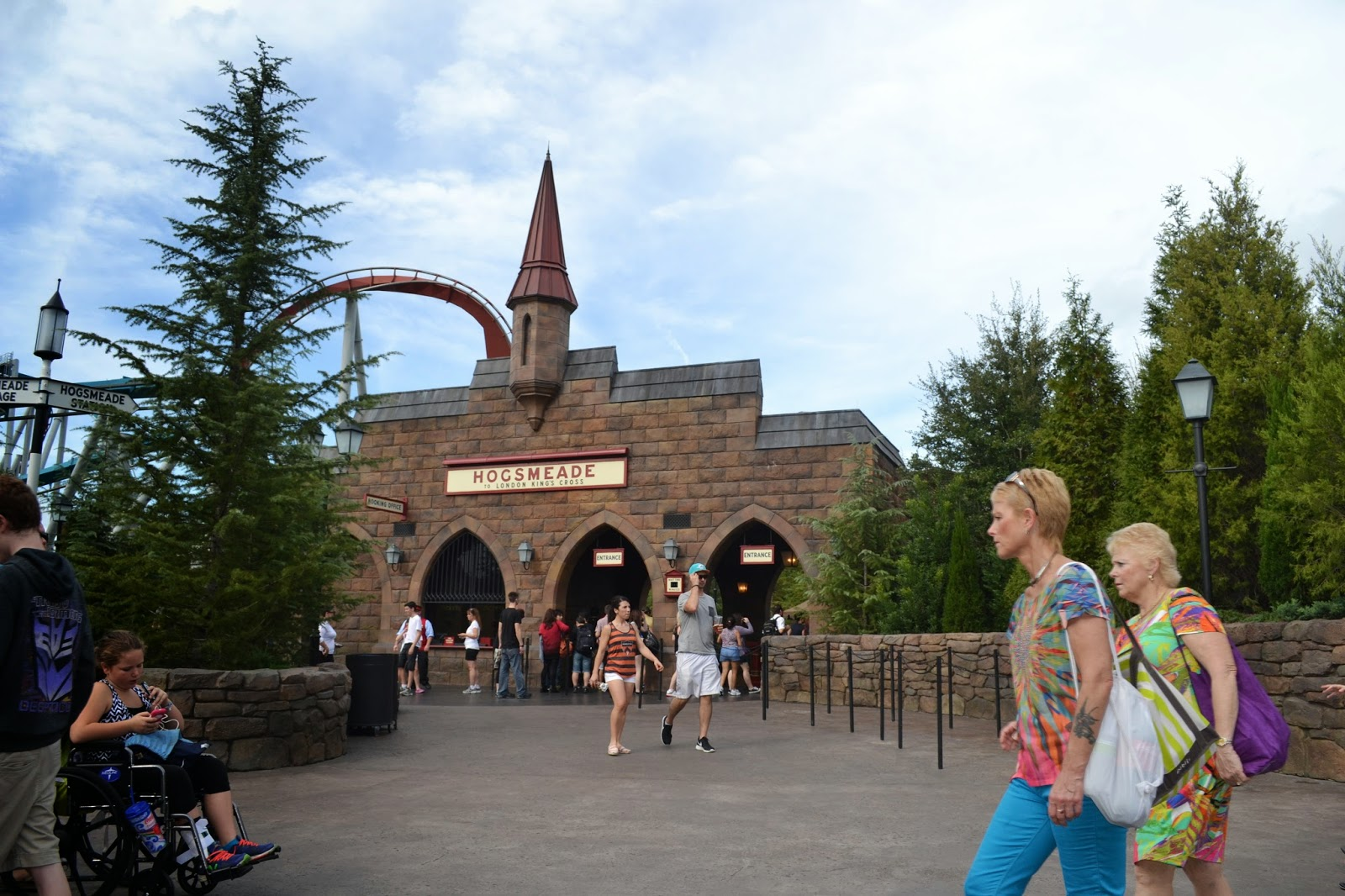 Hogsmeade Station at Universal - Islands of Adventure