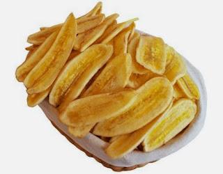 Review cara membuat keripik pisang.