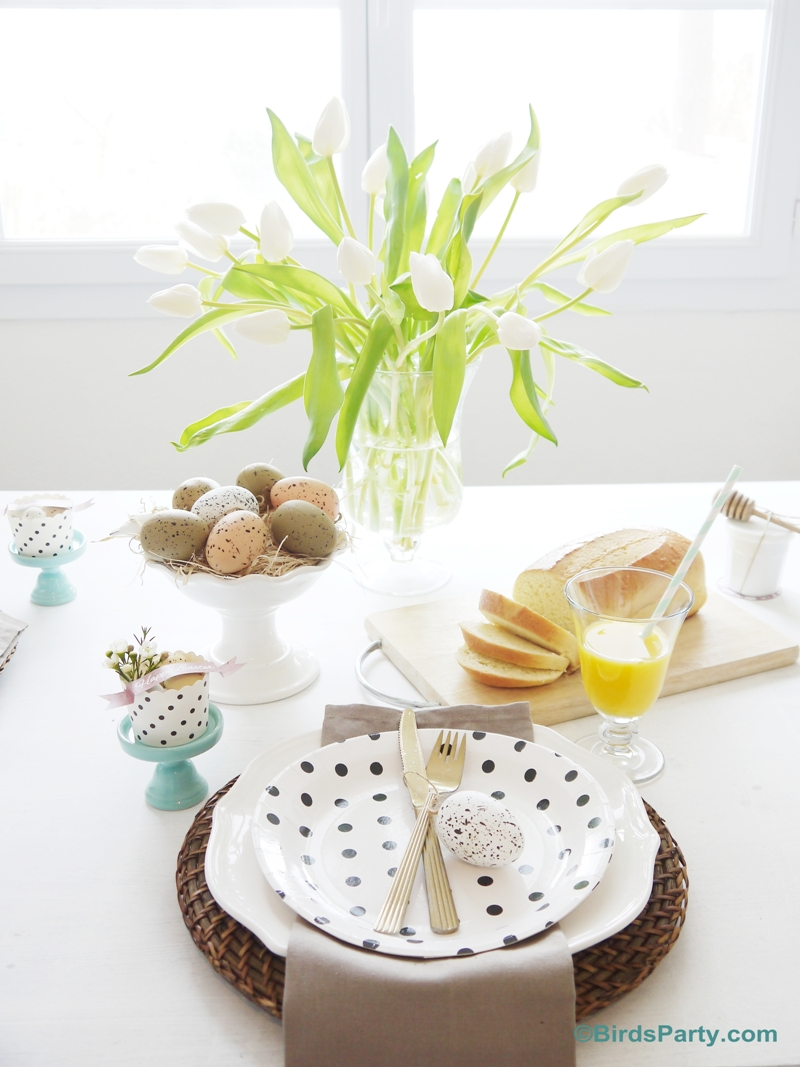 Idées pour le Brunch de Pâques