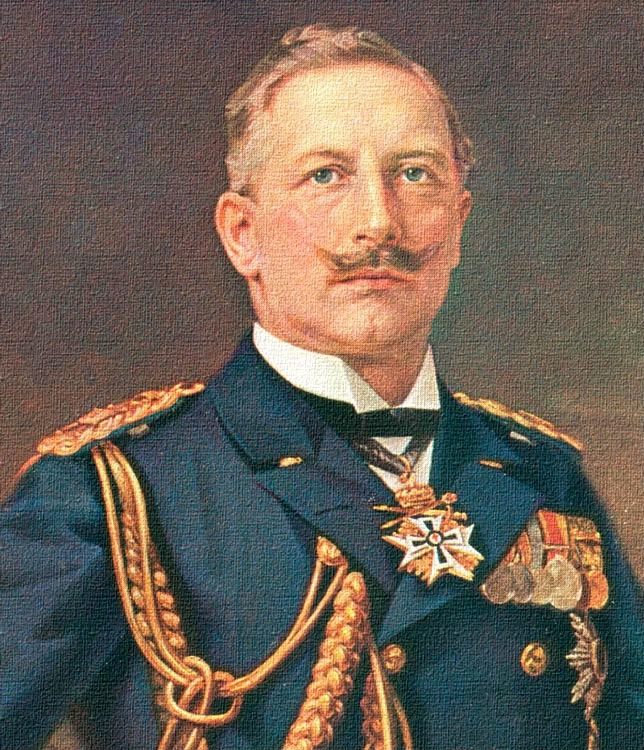 Picture of the German Kaiser Wilhelm II.