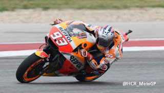 Hasil Kualifikasi MotoGP Amerika: Marquez Pole, Rossi Start Kelima