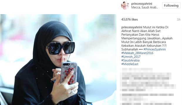 Syahrini Dianggap Netizen Tidak Sopan Bergaya di Mekkah 07ed3d381d
