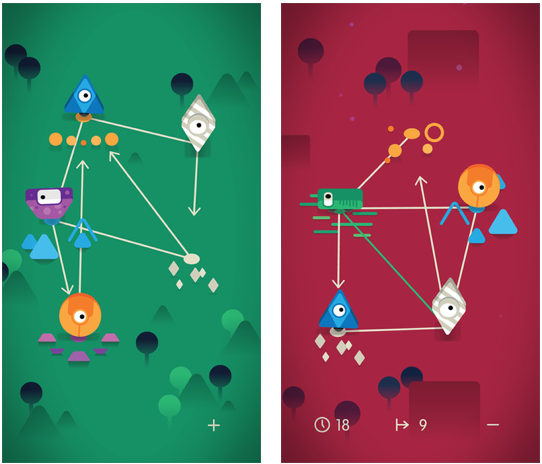 $2 Sputnik Eyes goes free as Apple's Free App of the Week. This means you will be able to download this puzzle game without having to pay a penny.