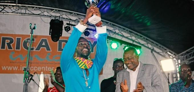 Photos: Okyeame Kwame honoured in Germany