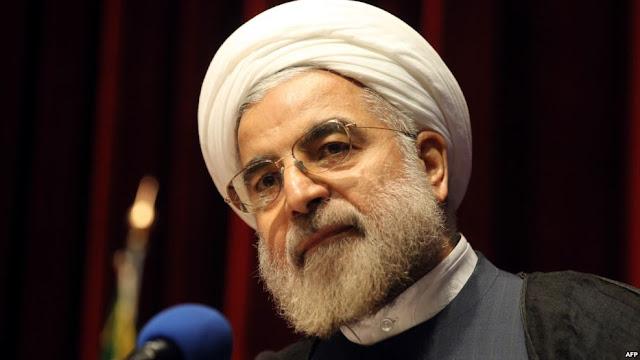 El presidente iraní Hassan Rouhani (AFP)