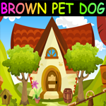 Games4King Brown Pet Dog Escape Walkthrough