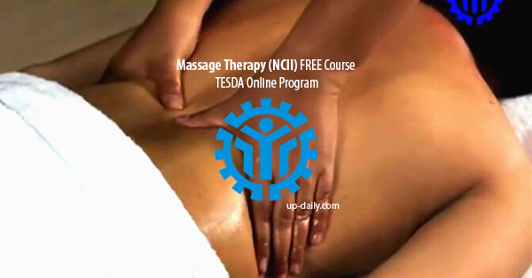 Learn Massage Therapy NCII at Tesda Online Program Free