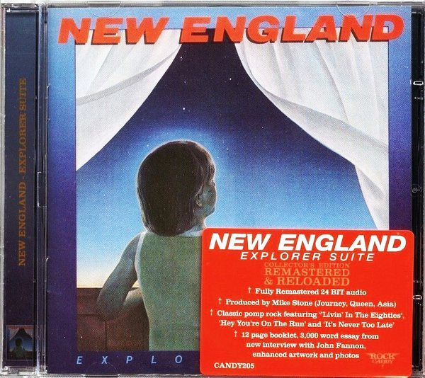 NEW ENGLAND - Explorer Suite [Rock Candy remaster] full