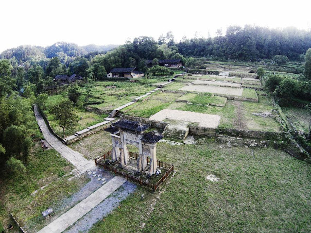 Ruins of Tangya Tusi fortress opens to the public
