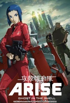 90animax Ghost in the Shell: Arise - Border:2 Ghost Whispers  Subtitle Indonesia