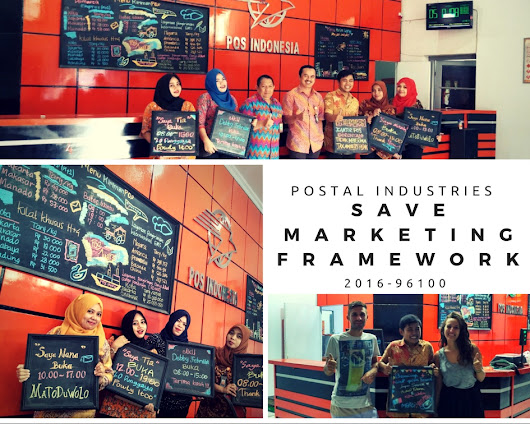 SAVE MARKETING FRAMEWORK IN POSTAL INDUSTRIES: A Case Study of Business Service Improvement in Gorontalo Postal Office