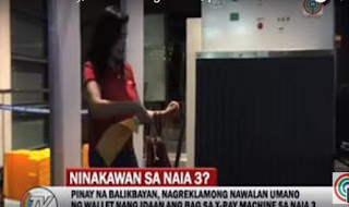 Filipina balikbayan, NAIA, NAIA theft, worst airport, Filipina lose wallet in NAIA