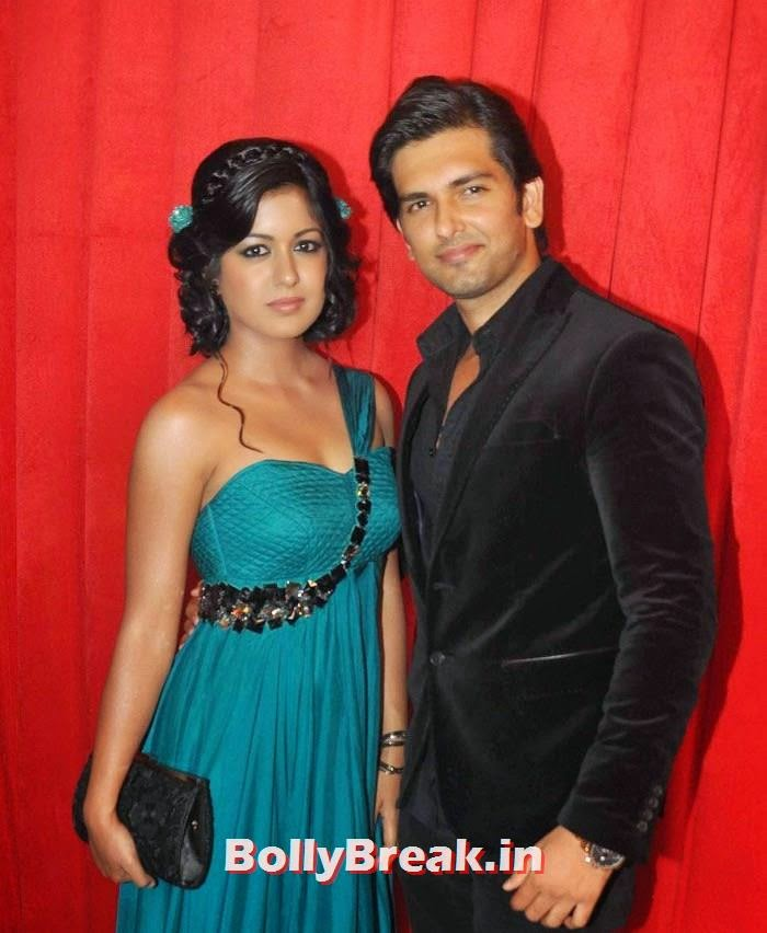 Ishita Dutta, Akash Garg, Star Parivaar Awards 2014 Red Carpet Photo Gallery