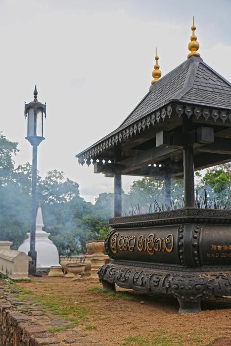Opferschrein am Zahntempel Kandy