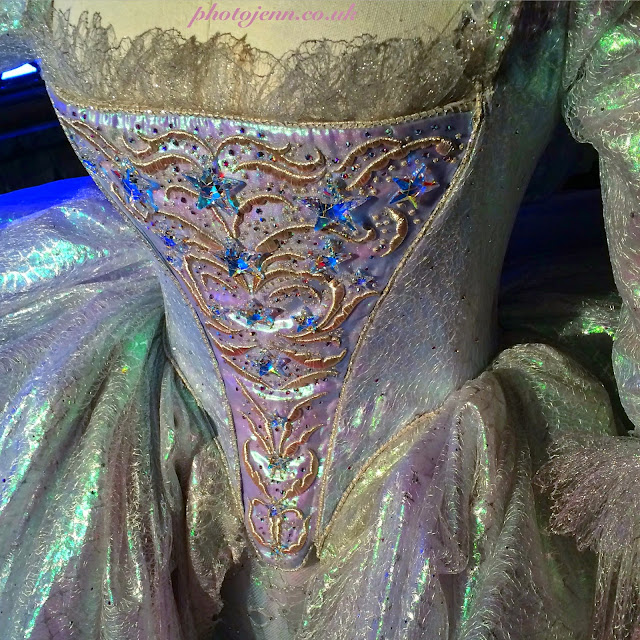 Cinderella-exhibition-london-movie-fairy-godmother-costume-dress-detail