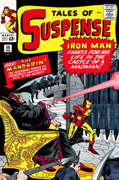 Tales of Suspense #50, Iron Man vs the Mandarin