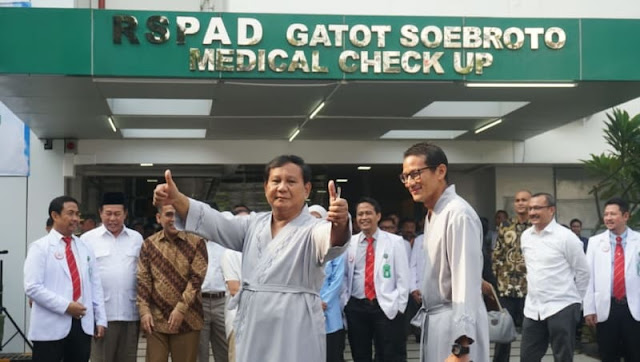 Prabowo: Saya Takut Disuntik, Lebih Baik Terjun Saja