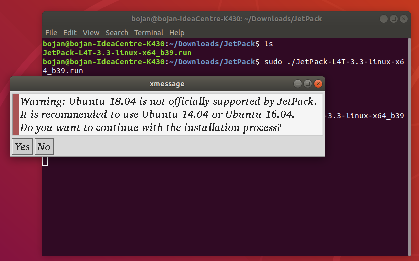 How to install JetPack 3 3 on Ubuntu 18 04 and flash Jetson