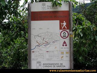 Ruta Bosques Moal, Cangas del Narcea
