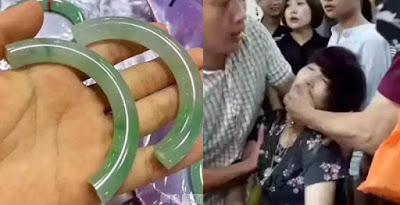 Berita-Unik-Dan-Dewasa-Turis-Wanita-Asal-China-Pingsan-Setelah-Memecahkan-Gelang-Giok-Rp-589-Juta