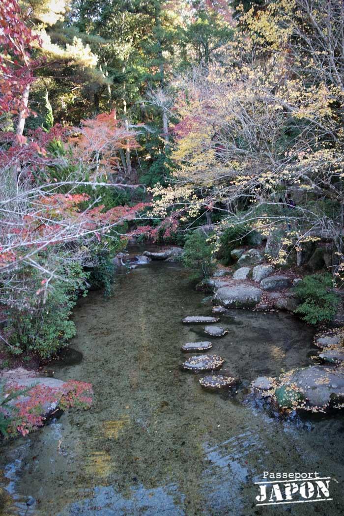 Parc momijidani en automne, Miyajima, Hiroshima-ken
