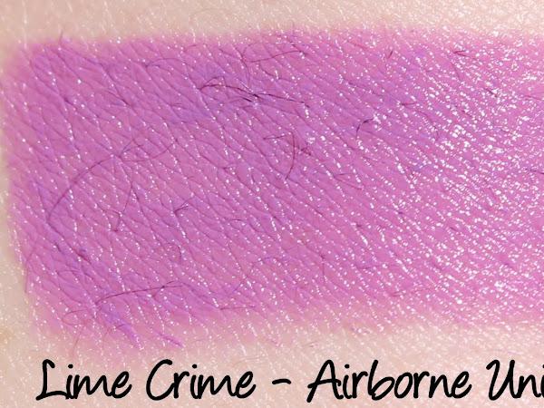 Lime Crime Lipstick Swatch Masterpost