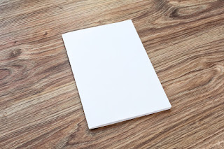 Blank piece of paper