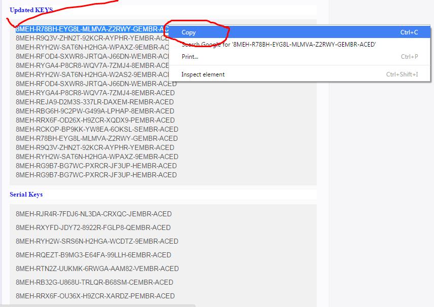avg internet security key