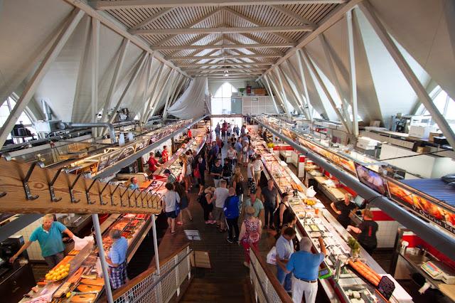 Feskekorka (mercato del pesce)-Goteborg