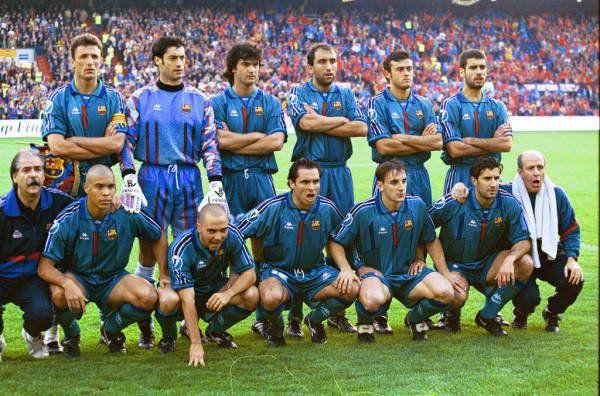 Há 20 anos, Barcelona era campeão da Recopa européia