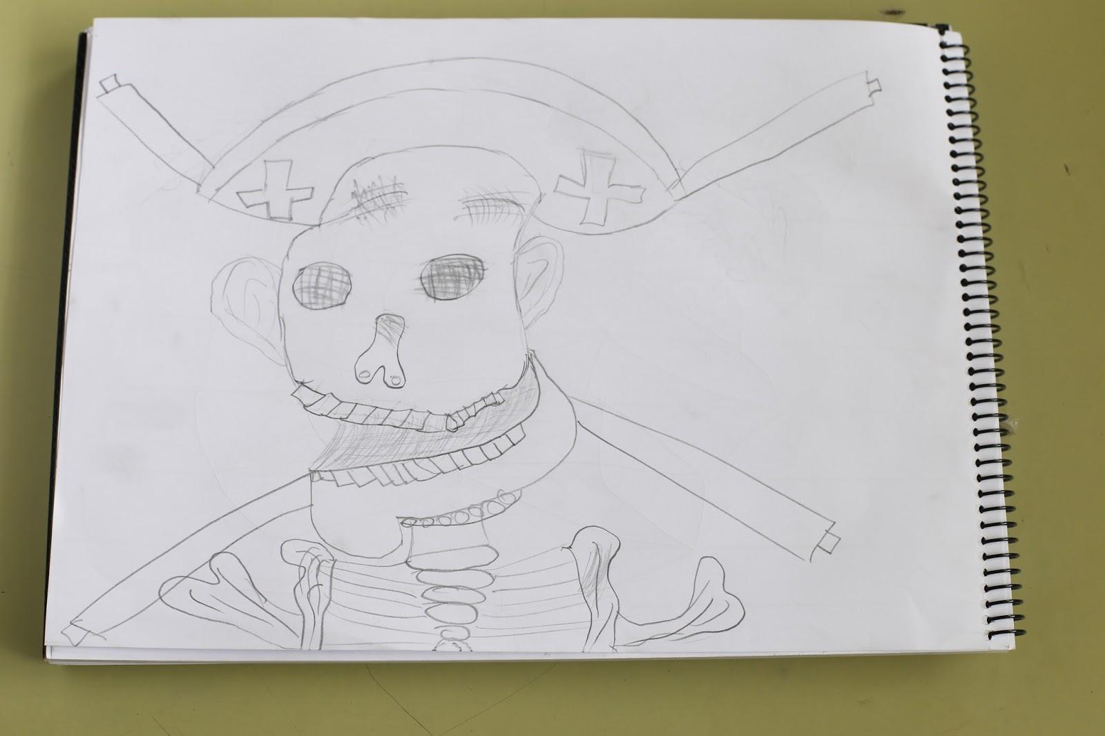 Dibujando Mi Catrina Arte Para Aprender En Honduras
