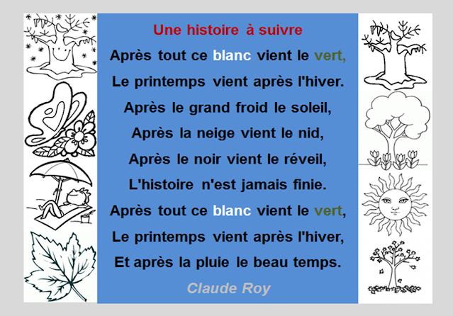 Wiosna - wiersz 1 - Francuski przy kawie