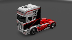Angry Eagle Skin for Scania RJL