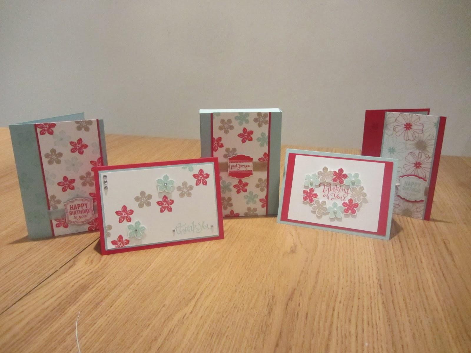craftycarolinecreates stampin up uk handmade card gift