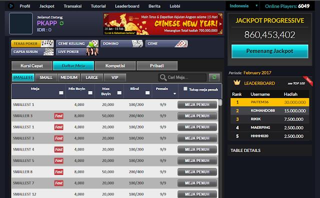 Cheat Sakong Online Berhasil 100%