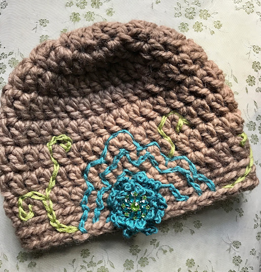 From Basic to Beautiful: Embellished Crocheted Beanies
