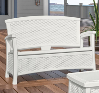 Suncast ELEMENTS® Loveseat with Storage